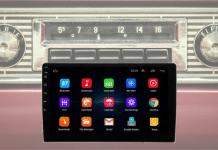 radio para auto con pantalla tactil